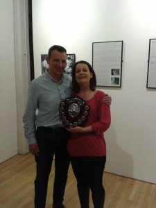 Andrea Earley coaches award