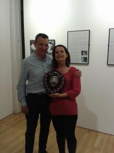 Andrea Earley coaches award