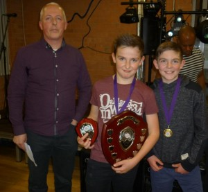 Ben Thomas Junior Male Athlete of the year 2014