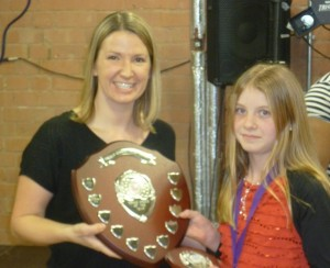 Emily BucklerJunior Female Athlete of the year 2014