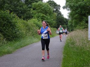 Julie Hudson - Female runner of the Day